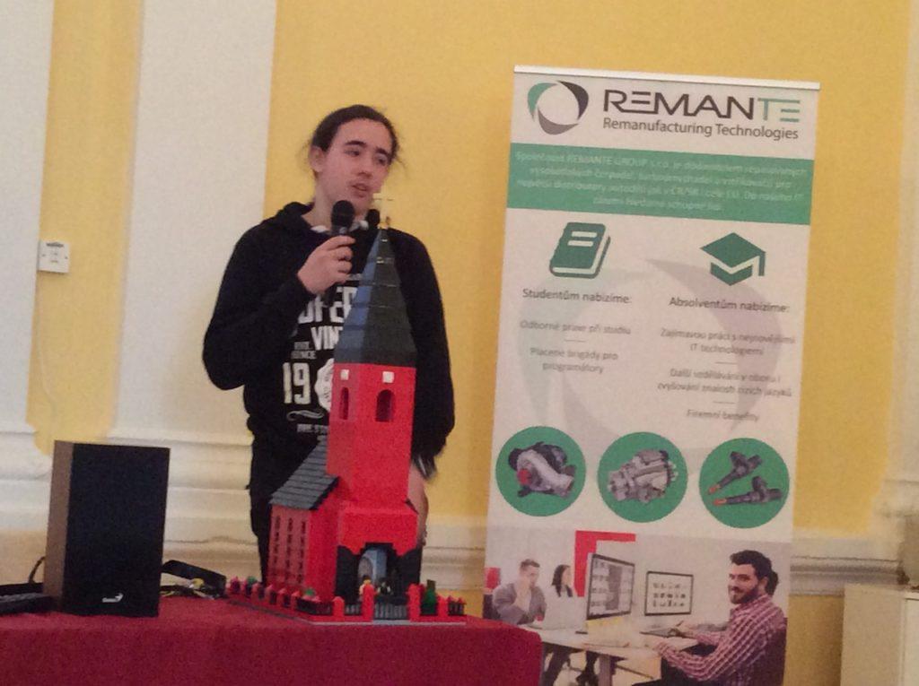 Libor Štrohalm při své prezentaci